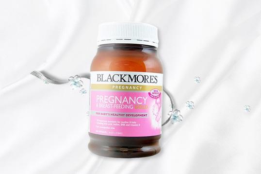 BLACKMORES澳佳宝 孕妇黄金营养素 孕妇哺乳期复合维生素 180粒/瓶