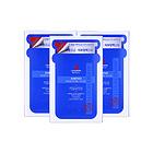 【一般贸易】三盒装丽得姿MEDIU 第三代氨基酸面膜  新升级 超强补水面膜贴 25ml x 10片/盒