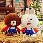 布朗熊公仔可妮兔毛绒玩具  九种规格任选