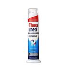 德国泰瑞美Theramed蓝色防蛀健齿牙膏100ML按压式立式牙膏