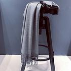 澳大利亞IZR UGG 圍巾 6號淺灰色 尺寸200*70cm 25%羊絨