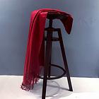 澳大利亞IZR UGG 圍巾 3號棗紅色 尺寸200*70cm 25%羊絨