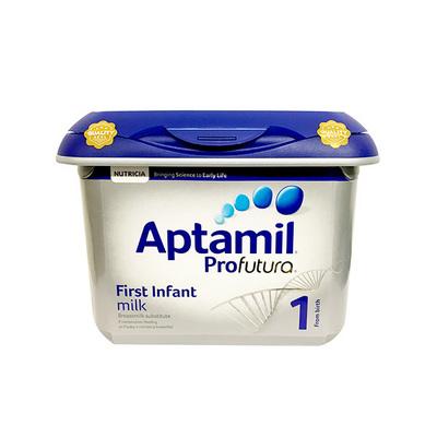 英国Aptamil爱他美白金版婴幼儿牛奶粉1段 0~6个月宝宝 800g/罐