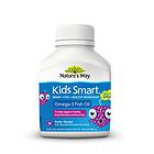 佳思敏Nature's Way Kids Smart三合一浆果味儿童鱼油软糖DHA爆浆鱼油50粒 健脑益智增强体质