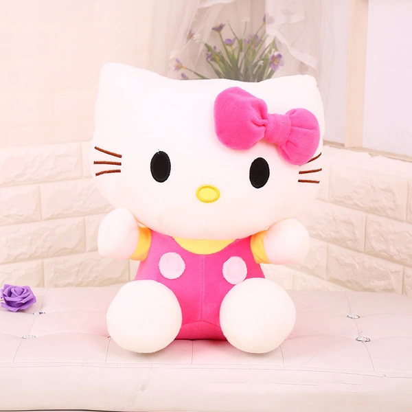 hello kitty哈喽凯蒂公仔毛绒玩具 三种颜色多种规格任选