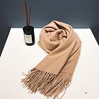 澳大利亞IZR UGG 圍巾 17號卡其色 尺寸200*70cm 25%羊絨