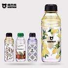韩国杯具熊新款玻璃杯 创意便携随手水杯带盖家用杯 7款可选