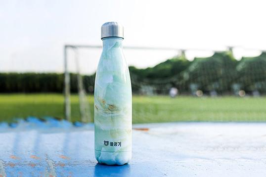 韩国杯具熊保温杯 艺术可乐水杯新款保温杯成人儿童时尚保温杯 3款任选