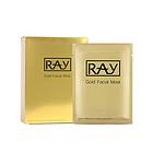 【范冰冰同款】泰国RAY金色美白蚕丝面膜10片/盒 薄清透 提亮肤色补水控油