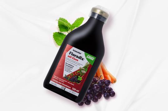 红铁元 Floradix iron 德国版补铁补血口服液 有机果蔬补铁补血