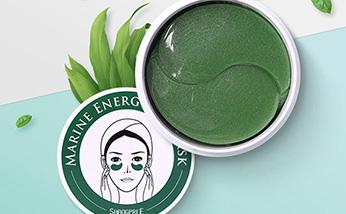 香蒲丽SHANGPREE绿色公主眼膜30对/盒 消眼袋减浮肿淡化黑眼圈