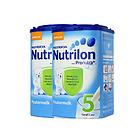 荷兰原装进口Nutrilon牛栏婴儿奶粉 5段800g/罐 2罐装 保质期至19年3月