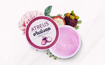 泰国ATREUS山竹膏 补水保湿晒后修复皮肤控油去痘印