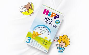 德国原装进口 喜宝HiPP 益生菌Combiotik奶粉 3段(10-12个月)600g/罐  保质期到2018年11月13号