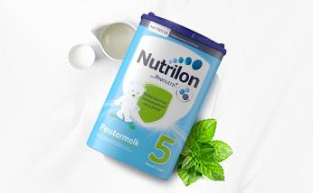荷兰原装进口 Nutrilon牛栏本土婴儿奶粉5段 优质奶源 健康好奶 800g/罐 保质期至2019年3月-6月