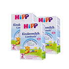 3盒装 喜宝益生菌幼儿奶粉2+ 2岁以上宝宝 德国Hipp进口品牌 600g/盒