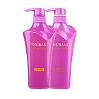 日本资生堂(Shiseido)丝蓓绮(TSUBAKI) 紫椿洗护组合套装 500ml+500ml