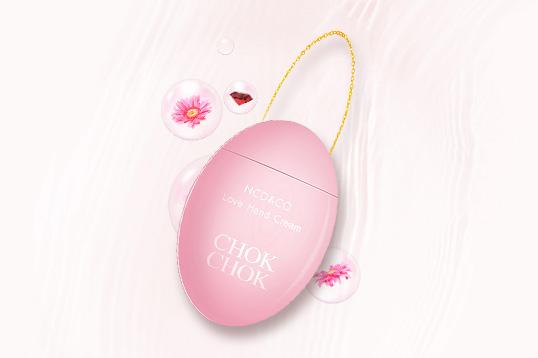 【黄圣依同款】韩国chokchok初出网红鹅蛋樱花香氛护手霜 水润轻薄 抖音同款 60g