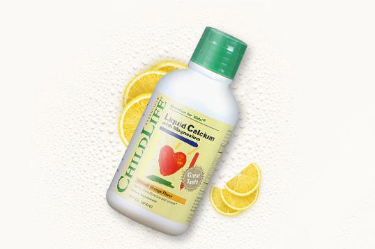 美国 CHILDLIFE 童年时光 婴儿钙镁锌乳钙 儿童补钙 宝宝液体钙474ml/瓶