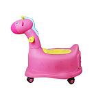萌客长颈鹿多功能儿童车便携坐便车宝宝马桶 颜色随机发货