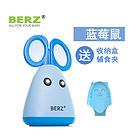 【一般贸易中文标】英国贝氏BERZ乖乖鼠与呆萌猫辅食剪套装 BZ-8701B 蓝色