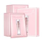 韩国JMsolution欧若拉樱花水光面膜补水保湿美白 10片/盒