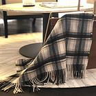 2018新款澳大利亞IZR UGG 圍巾 14號黑白條紋格加厚款 尺寸200*70cm