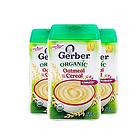 3罐装美国Gerber嘉宝燕麦米粉1段 有机燕麦米粉 婴儿米糊 4个月以上宝宝辅食 227g/罐
