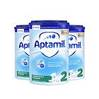 英国 原装进口 Aptamil爱他美奶粉2段  800g/罐 6-12月  3罐装 新老包装随机发货