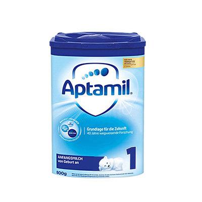 德国原装进口 美乐宝 Aptamil爱他美奶粉 1段 0-6个月 德爱800g/罐