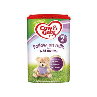 英国原装进口牛栏 2段婴幼儿奶粉 6-12月  800g/罐