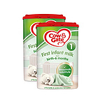 英国牛栏cow&gate 1段新生儿奶粉900g/罐 0-6个月英牛2罐装