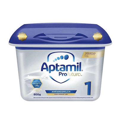 德国爱他美Aptamil高端奶粉白金版1段 0-6个月宝宝适用 800g/罐 新配方+新老包装随机发货