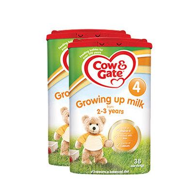 英国牛栏cow&gate 4段婴幼儿奶粉 2-3岁 800g/罐英牛2罐装