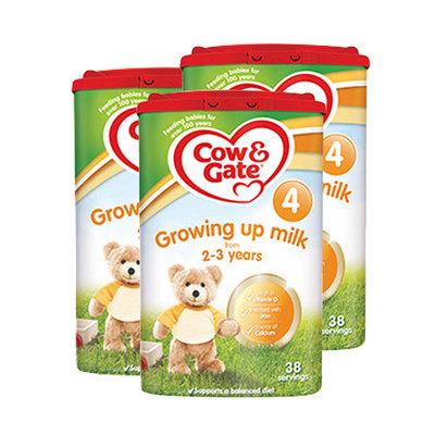 英国牛栏cow&gate 4段婴幼儿奶粉 2-3岁 800g/罐 英牛3罐装