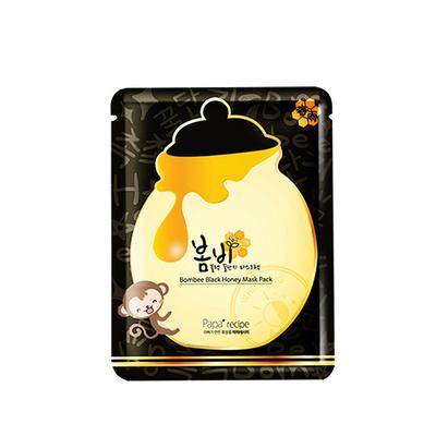 韓國papa recipe春雨蜂蜜保濕補水面膜貼 黑盧卡保濕補水 10片/盒