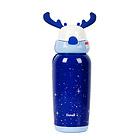 Duvall杜瓦尔 时尚鹿角杯保温杯蓝色鹿450ml
