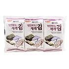 韩国韩福10.2海苔(原味)15g  进口海苔 休闲食品 儿童即食包饭拌饭海苔