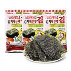 韩国韩福10.2海苔(泡菜风味)13.5g 休闲零食