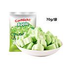菲律宾可尼斯CorNiche青苹果味泰迪棉花糖70g