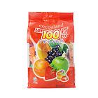 马来西亚LOT100一百份什果果汁软糖1kg儿童零食水果糖QQ糖果