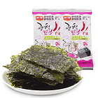 韩国韩福10.2烤紫菜16g 进口海苔 休闲食品 儿童即食包饭拌饭海苔
