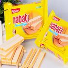 印尼进口休闲零食 丽芝士纳宝帝奶酪威化饼干58克