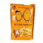 马来西亚金马食特薯条咸味辣味马铃薯条80g