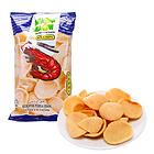 马来西亚 妙妙(MIAW MIAW)大包装虾味片(膨化食品)120g
