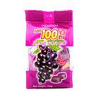 马来西亚LOT100一百份黑加仑子果汁软糖150g