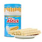 印度尼西亚Astick爱时乐香草牛奶味味威化卷心酥 注心威化饼干150g