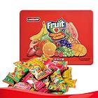 马来西亚伦敦WF混合果味软糖糖果(红色铁盒装)268g