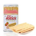 印度尼西亚Astick爱时乐草莓味威化卷心酥330g