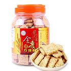 台湾好乔牌(How Chiao)好味道全麦方块酥500g